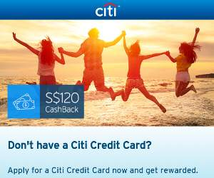 Citibank 120 cash back